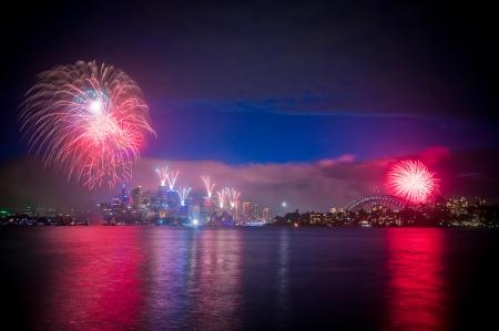 Sydney New Years Eve Fireworks photo