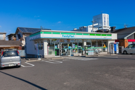 TOKYO - January 11: Family Mart convenience store on Jan 11, 2013 in Tochigi, Japan. FamilyMart is one of largest convenience store franchise chains in Japan.