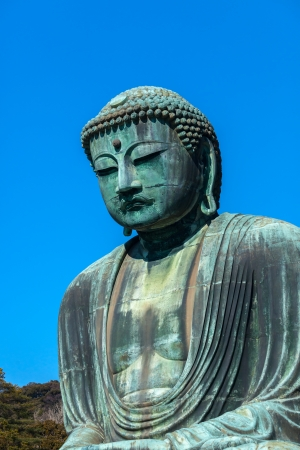 kamakura: Famous Great Buddha bronze statue in Kamakura