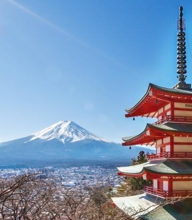 seaonal: Mount Fuji, japan