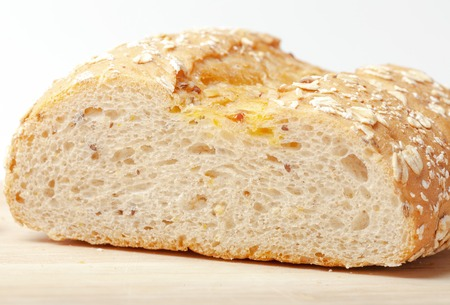 Bread from rye and wheat flour of a rough grinding Stock Photo