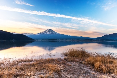 Mt. Fuji at morning
