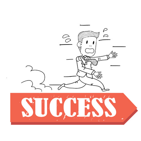 run to success Vector