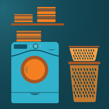 laundry vector photo