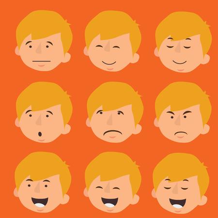 mug shot: Mens Faces