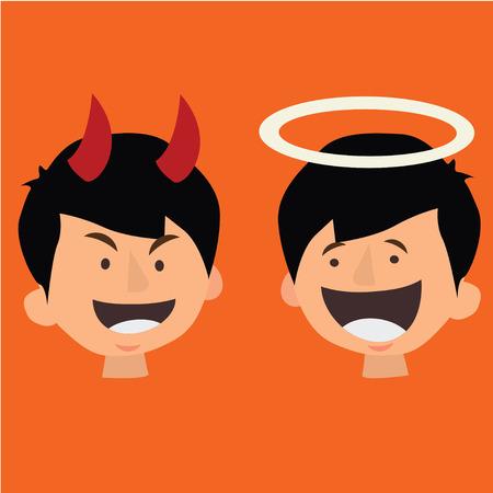 angry angel: good and bad Behavior,