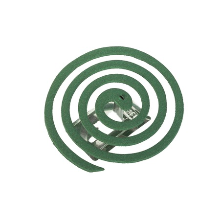 mosquito coil is an anti-mosquito repellent photo