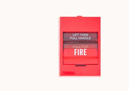 fire alarm button emergency photo