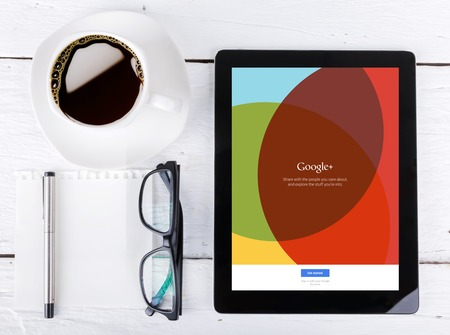search results: Chiang mai,THAILAND Fab 25, 2015:Google+ social network of the Google company. Information of a social network, influences Google search results.