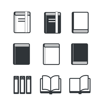 epublishing: Book icons Stock Photo