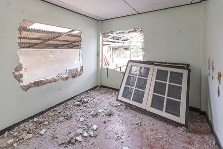 trashed: home destroyed