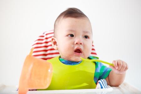 baby kind eten als voorzitter