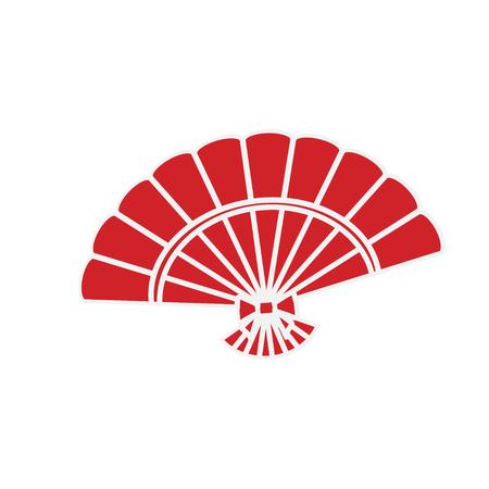 paper fan clipart. paper folding: folding fan chinese illustration clipart