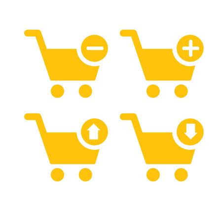 Outline Cart icon  Icon for website design, logo