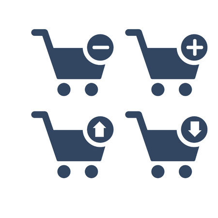 Outline Cart icon  Icon for website design