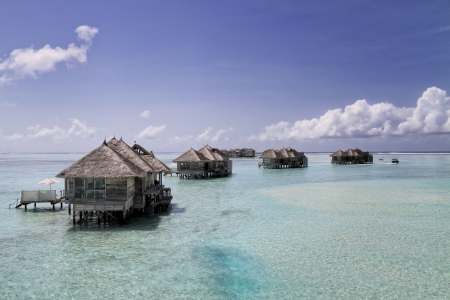 Crusoe Villas at Gili Lankanfushi (formerly Soneva Gili) in the Maldives photo