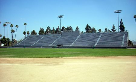 this is a shot of stadium seating