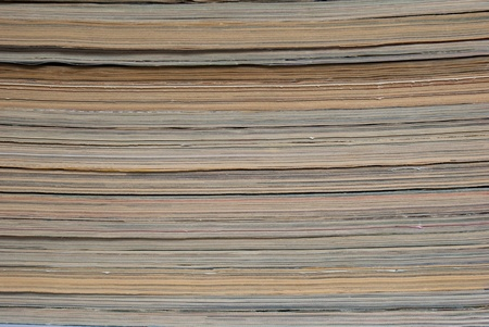 Stacked paper background Stock Photo - 10019471