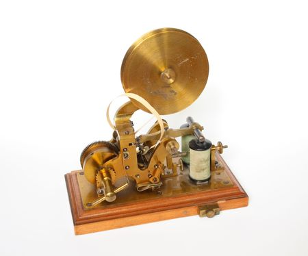 telegraphic communication: telegraph