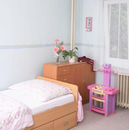 camera di ragazza