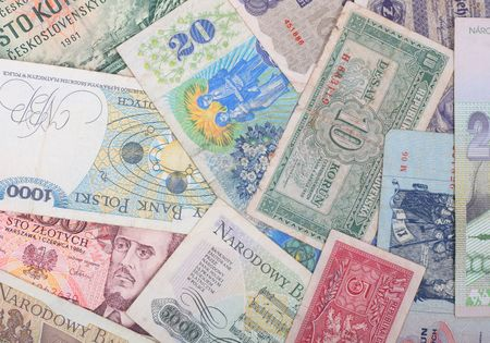 old european money background (czech and slovak republic) Stock Photo - 2737461