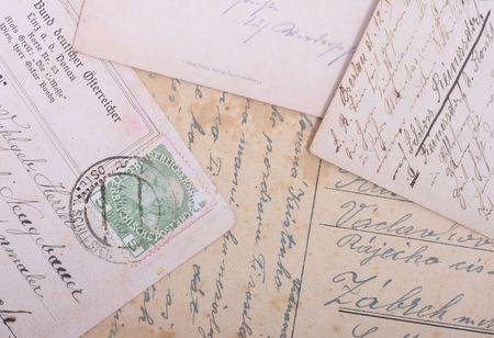 old background from the historical czech postcards Stock Photo - 2737455