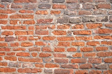 bardzo ładne ściany ze starej czerwonej cegły Zdjęcie Seryjne - 3469572