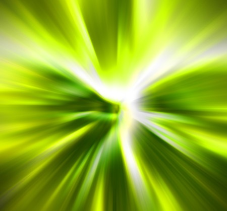 hyperspace: abstract explosion background generated by the computer Stock Photo