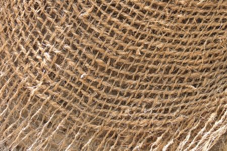 nice natural textile background as brown texture Stock Photo - 5433371