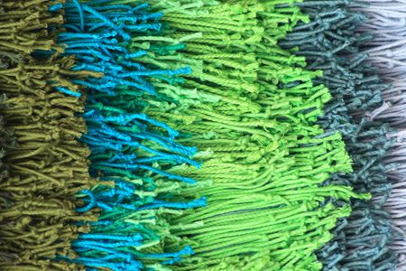 textile texture as color background (blue gray green) Stock Photo - 5465486