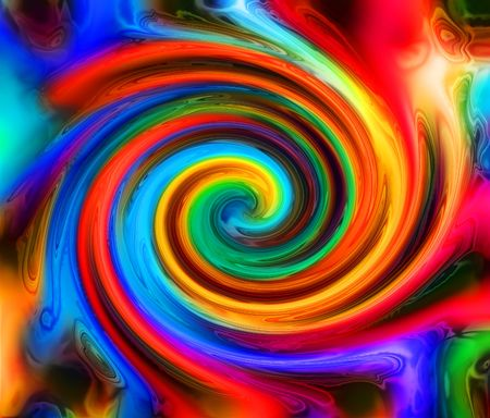 abstract color background generated by the computer photo