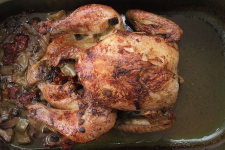 nice food: grilled chicken as very nice food background