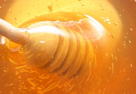 fresch honey as very nice food background