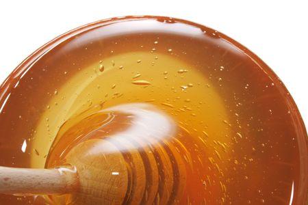 bacground Nizza miele con il bastone in legno