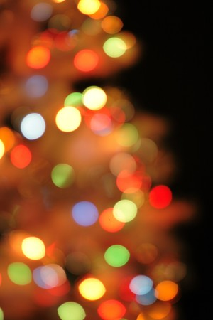 christmas background from the color xmas lights photo