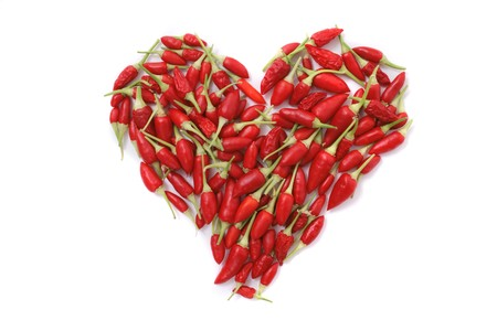 heart very: very nice spice heart from the chili