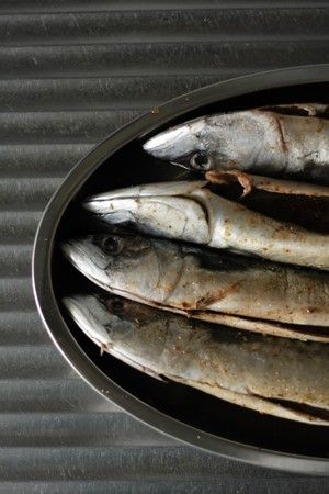nice food: fresh fishes as very nice food background