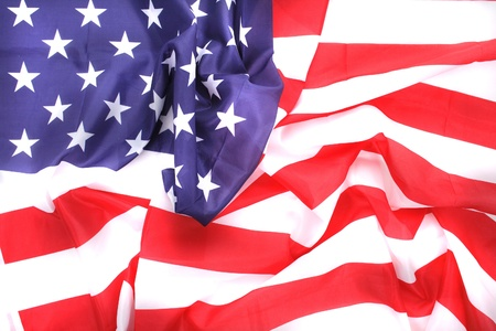 detail of USA flag as very nice America background Stock Photo - 8599641
