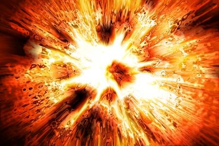 trama di esplosione bello generato dal computer