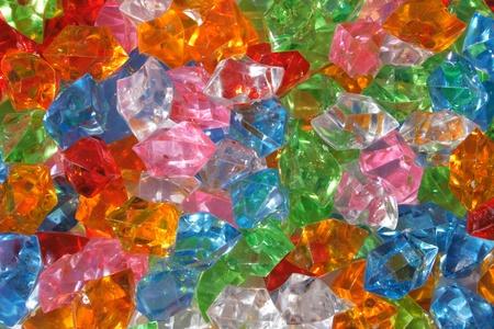 trillion: color plastic diamonds as very nice luxury background