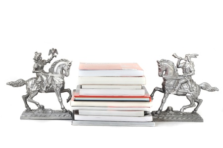 new books isolated on the white background Stock Photo - 9421719