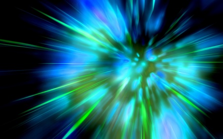 abstract explosion background generated by the computer  photo