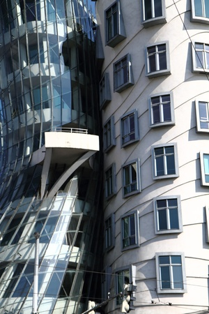dancing house: Dancing house in the Prague in the Czech republic