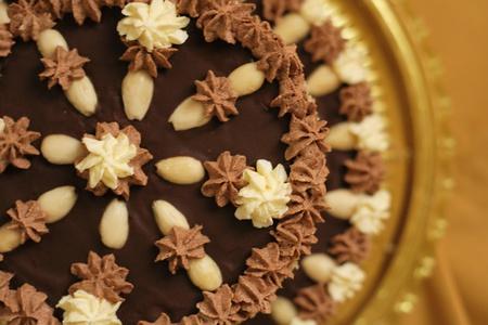 nice food: сладкий торт, как очень хорошая еда фон Фото со стока