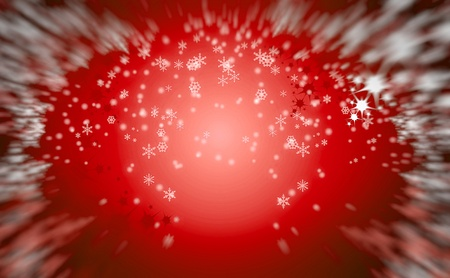 very nice christmas background with snow flakes Stock Photo - 10102538