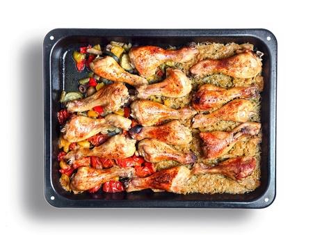 nice food: курьих ножках, как очень хорошую еду фоне Фото со стока