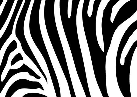 非常に簡単な動物の背景としてシマウマの背景