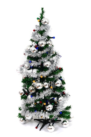 christmastree: christmas tree isolated on the white background