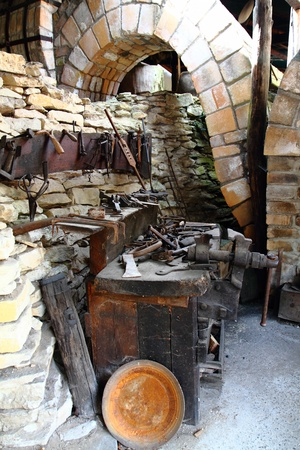 malleable: nice blacksmithing in the historic village