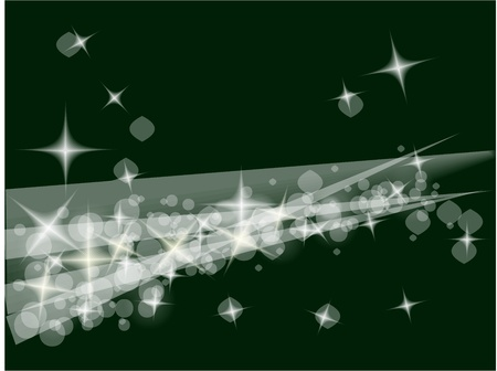 christmas background in the white and green Stock Vector - 10963752